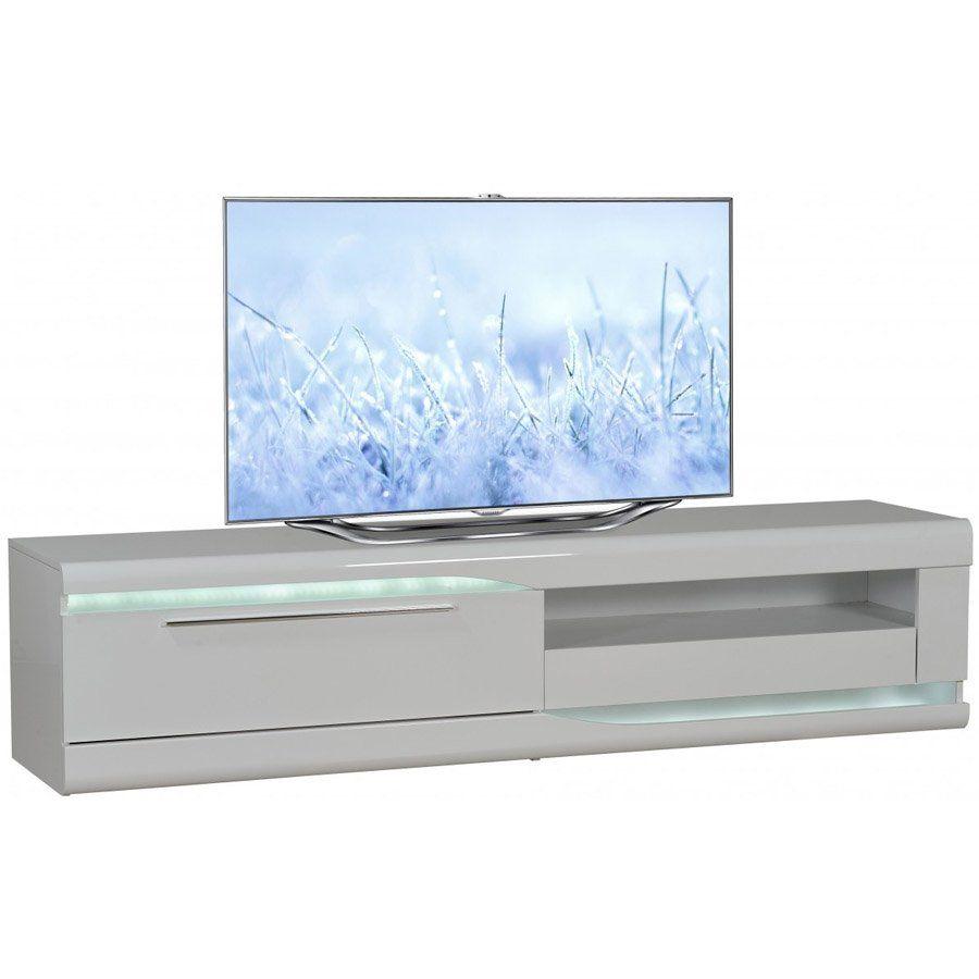 Flatscreen Tv Meubel.Tv Meubel Ovio 36 2l Hoogglans Wit