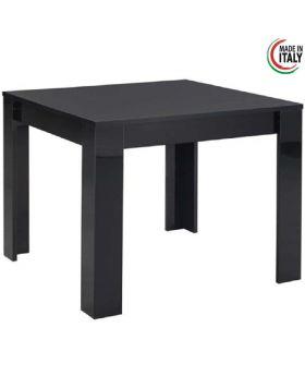 Eettafel Modena hoogglans zwart