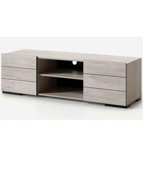Tv-meubel Elba Gebleekt Eiken