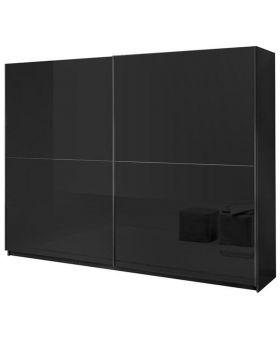 Kledingkast Kenzo hoogglans zwart L180