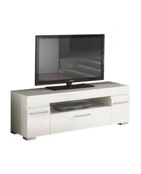 Kristal TV-meubel Hoogglans Wit / Swarovski