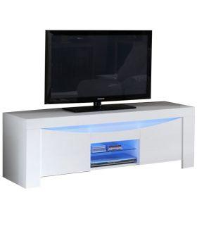 Onda tv-meubel hoogglans wit