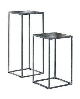 Plantentafel industrial design metal