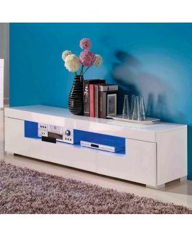 Tv-meubel jovani design Room II hoogglans wit met led verlichting