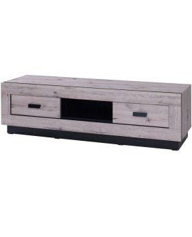 goedkoop industrieel design tv-meubel Marseille wellington eiken
