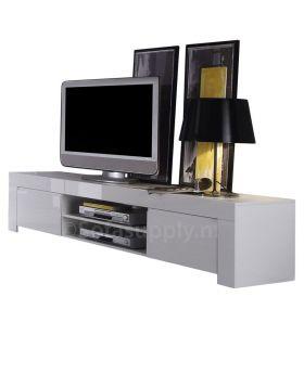 Mobili Amalfi L hoogglans wit tv-meubel