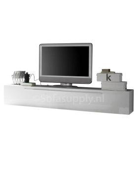 Tv-meubel Mobili Primo hoogglans wit
