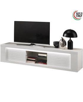 Tv-meubel Venezia 2D Hoogglans Wit