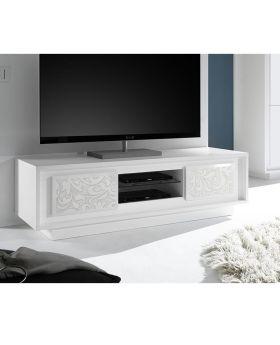 Tv-meubel Mobili Sky Wit Flower