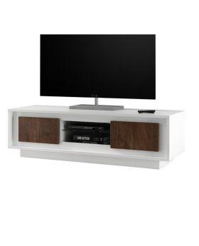 Tv-meubel Mobili Sky Eiken Donker / Wit