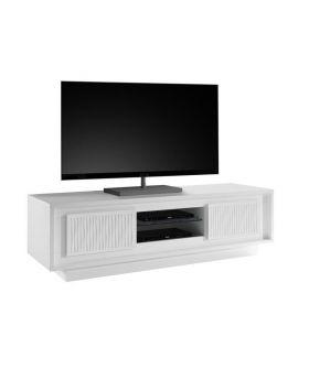 Tv-meubel Mobili Sky Wit Gestreept