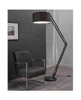 Vloerlamp Ilumen Estudy zwart
