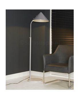 Design vloerlamp Ilumen Triangle grijs